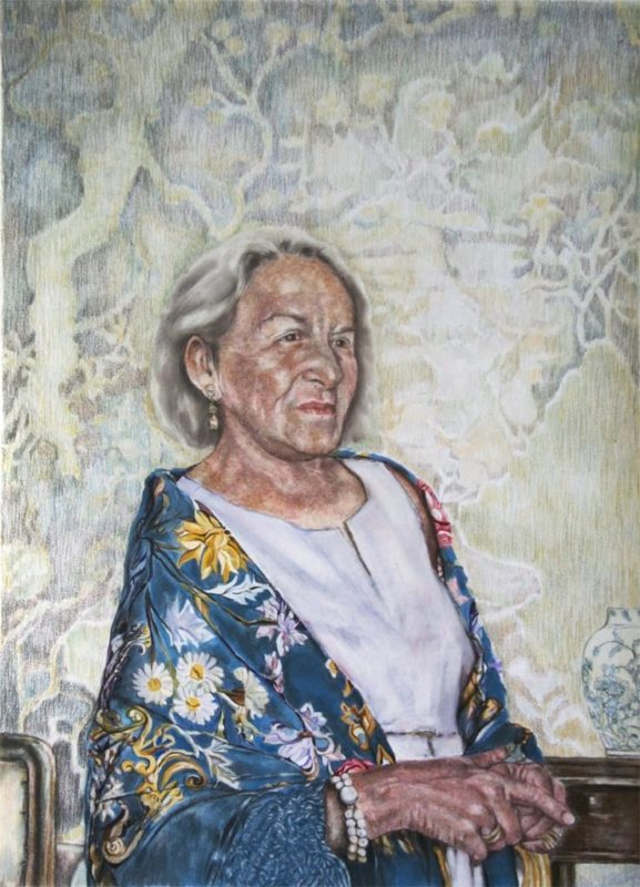 Portrait of Frau Jentzsch